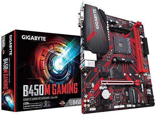 Carte mère Gigabyte B450M Gaming - Micro ATX, AM4