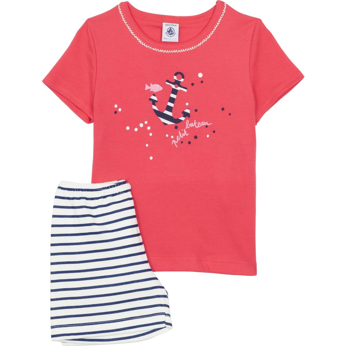 Pyjashort enfant Petit Bateau - Tailles au choix