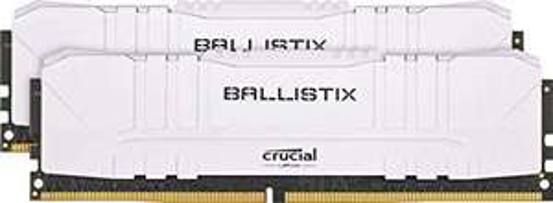 Kit Mémoire DDR4 Crucial Ballistix BL2K8G30C15U4W 16 Go (2 x 8 Go) - 3000 MHz, CL15