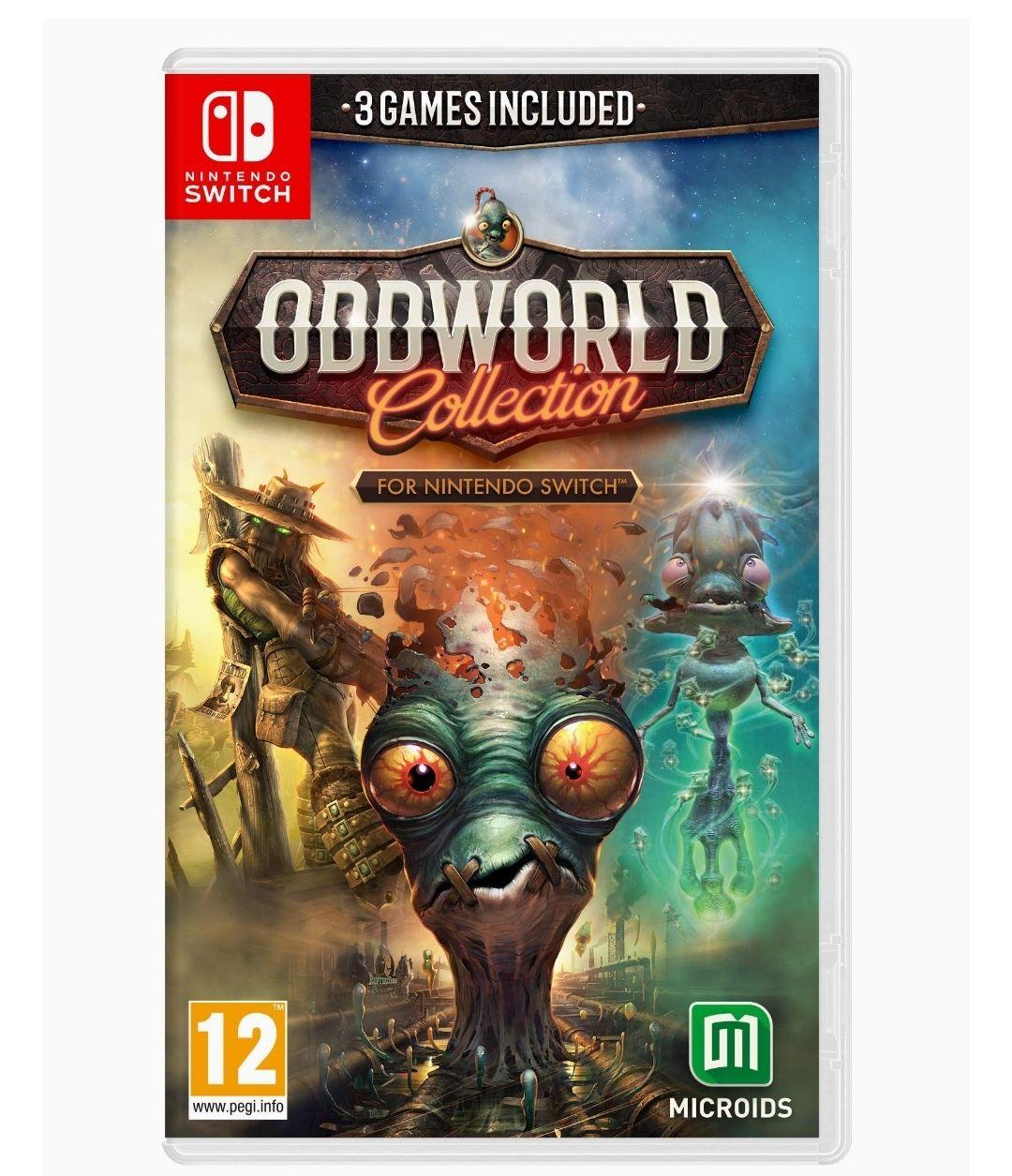 Oddworld Collection sur Nintendo Switch