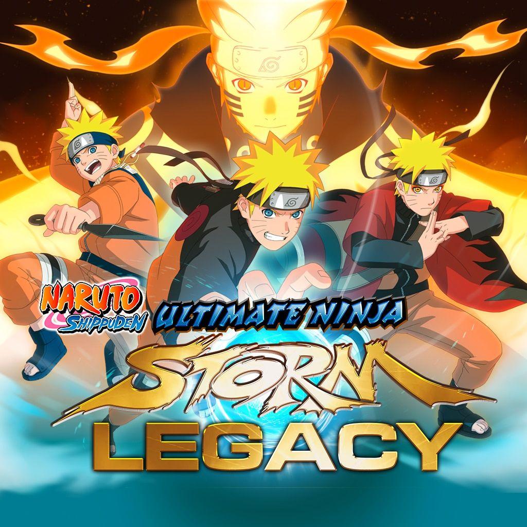Naruto Shippuden Ultimate Ninja Storm Legacy sur PS4 (Dématérialisé)