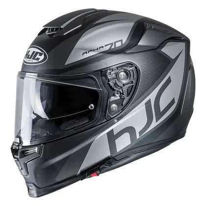 Casque Moto Intégral Hjc Pinot - noir/gris, Du S au XL