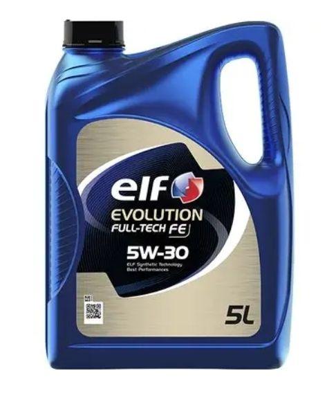 Bidon d'huile moteur Elf Évolution full Tech FE 5W30 - 5L