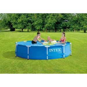 Piscine tubulaire ronde Intex - 3,05 x 0,76m, Metal Frame
