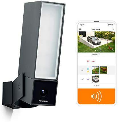 Caméra de sécurité extérieure Netatmo Intelligente avec sirène - 105 dB