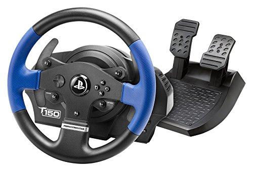 Volant + pédalier de jeux vidéo Thrustmaster T150 Force Feedback pour Playstation & PC