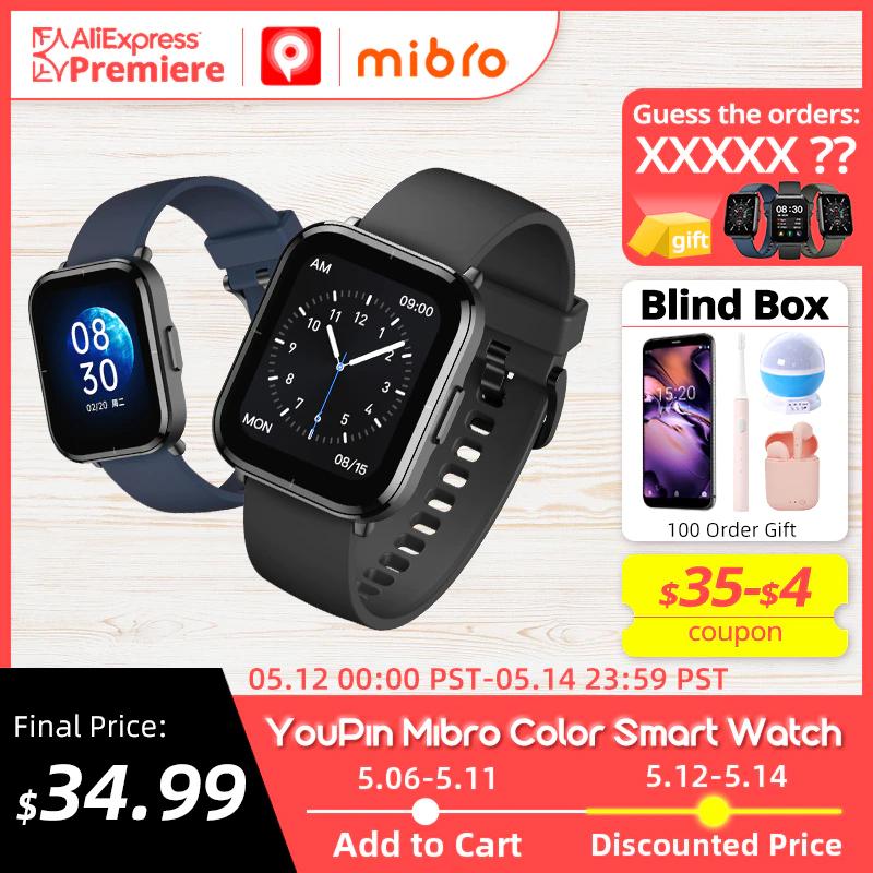Montre connectée Youpin Mibro Color (Via Coupon Vendeur)