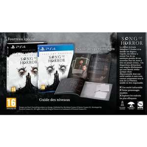 Song of horror édition deluxe sur PS4