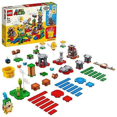 Lego Super Mario 71380 - Set de créateur Invente Ton Aventure