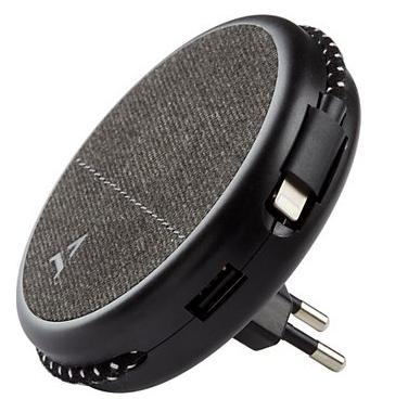 Chargeur secteur Magnétique Adeqwat - 17W, cable lightning / Micro USB ou USB C intégré