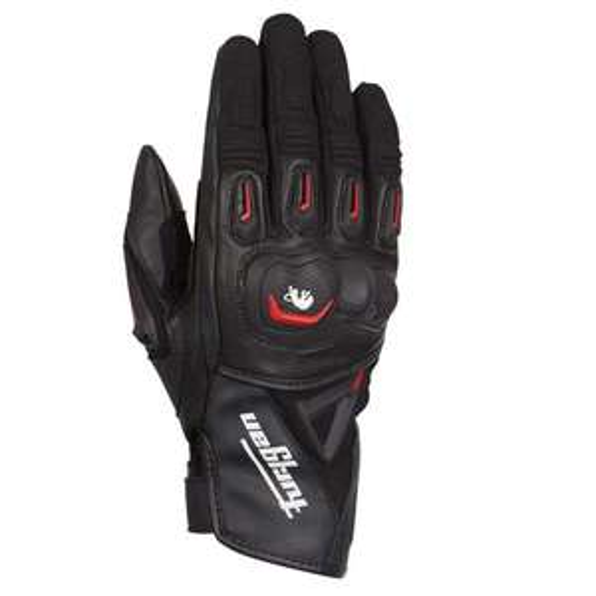 Gants moto Furygan Volt - Rouge et Noir, Taille L