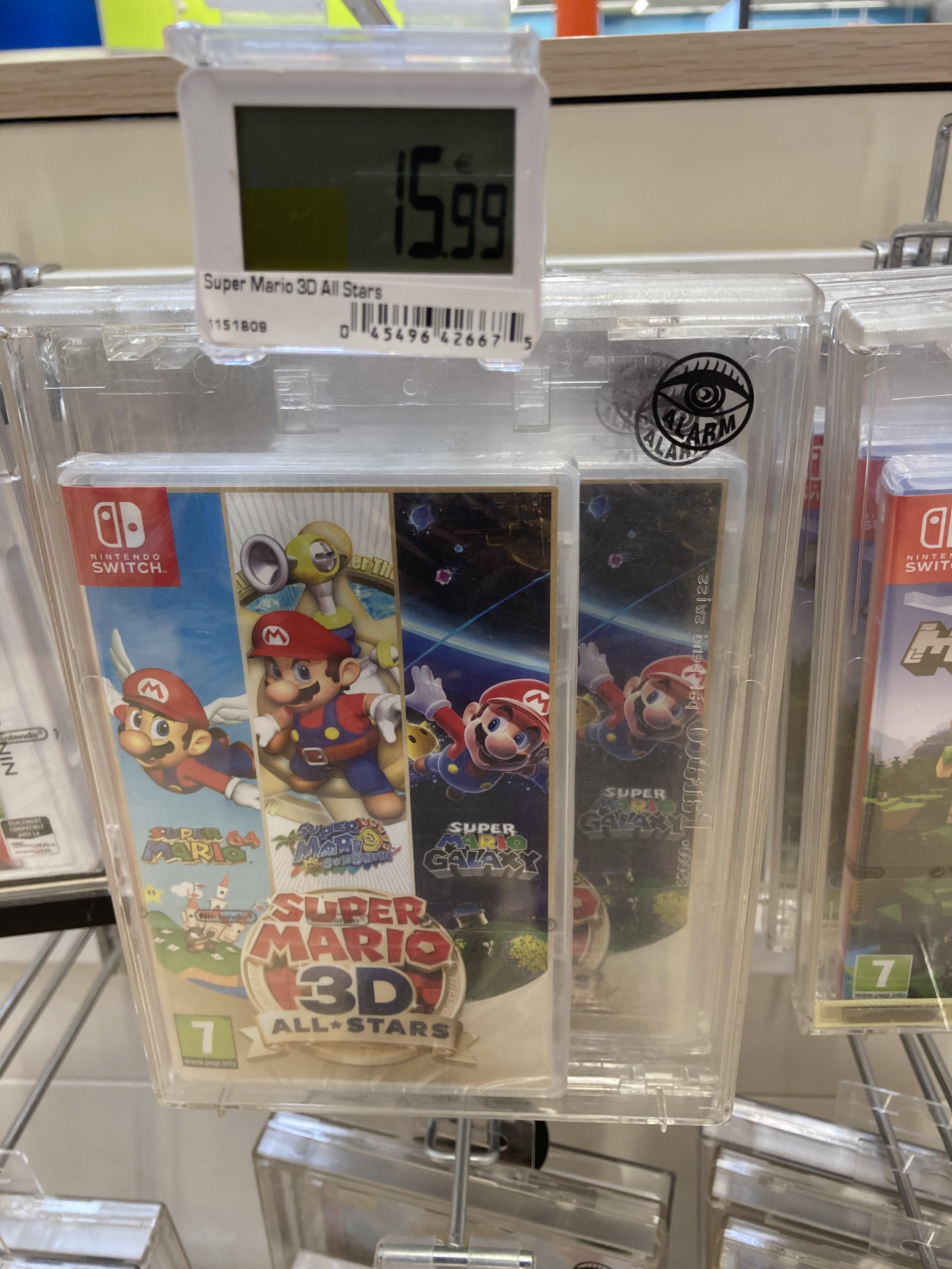 Super mario 3D aAll Star sur Nintendo Switch - Couzeix (87)