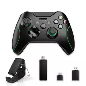 Manette de jeu sans fil avec adaptateur pour Xbox One, PS3, PS4, Smartphone & PC - 2.4 GHz