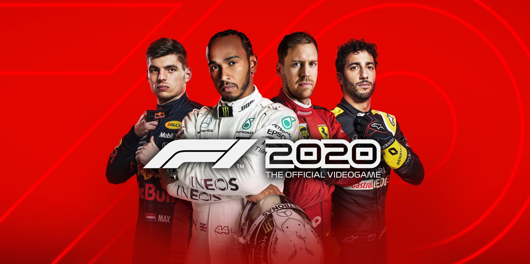 Jeu F1 2020 sur PC (Dématérialsé - Steam)