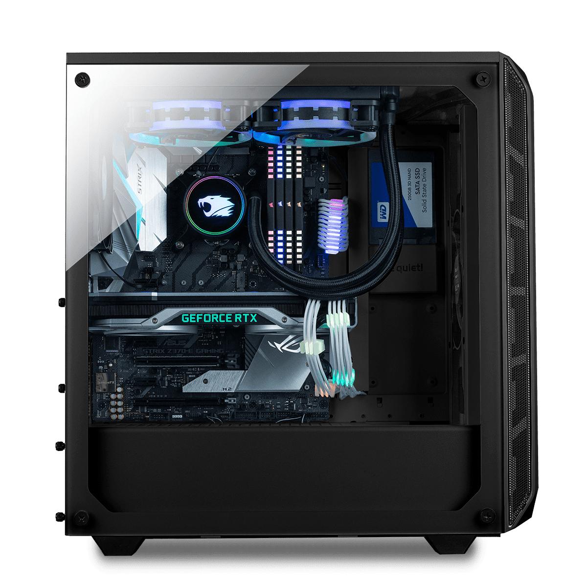 PC Gamer Intel Paladin - i5-10600k, 26Go RAM, 1To SSD, Z590 Phantom Gaming 4, RX 6700 XT, Alim. 500W, AIO RGB 240mm, Sans OS (ibuypower.de)