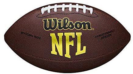 Ballon de football américain Wilson NFL Force - Coloris Brun