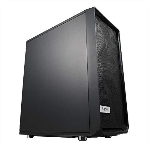 Boîtier PC Fractal Design Meshify C Solid Side Panel - Noir, ATX