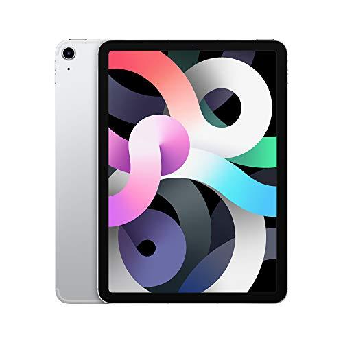 """Tablette 10.9"""" Apple iPad Air (2020) - Wi-Fi + Cellular, 256 Go, Couleur Argent"""