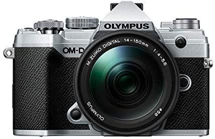 Appareil photo hybride Olympus E-M5 Mark III + Objectif 14-150 mm