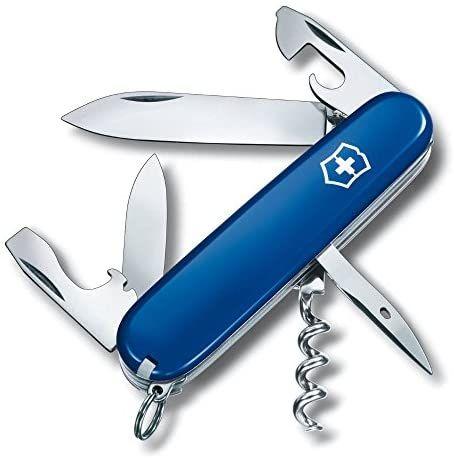 Couteau Suisse de poche Victorinox Spartiate - Coloris Bleu