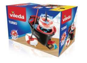 Kit balai lave-sol + seau Vileda Easy Wring & Clean Turbo