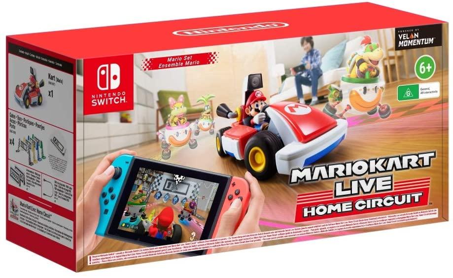 Mario Kart Live Home Circuit - Mario sur Nintendo Switch (Frais d'importation inclus)