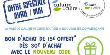 15€ de réduction dès 30€ d'achat chez les commerçants de Caluire-Et-Cuire (69) - mavillemonshopping.fr