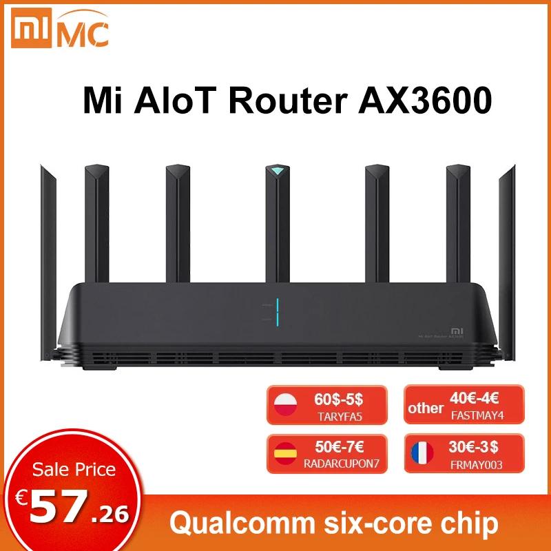 Routeur Xiaomi Mi AX3600, Version globale (Entrepôt France)