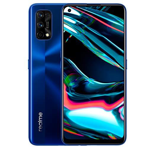 """Smartphone 6.4"""" Realme 7 Pro - 8 Go de RAM, 128 Go, Bleu, FHD+"""