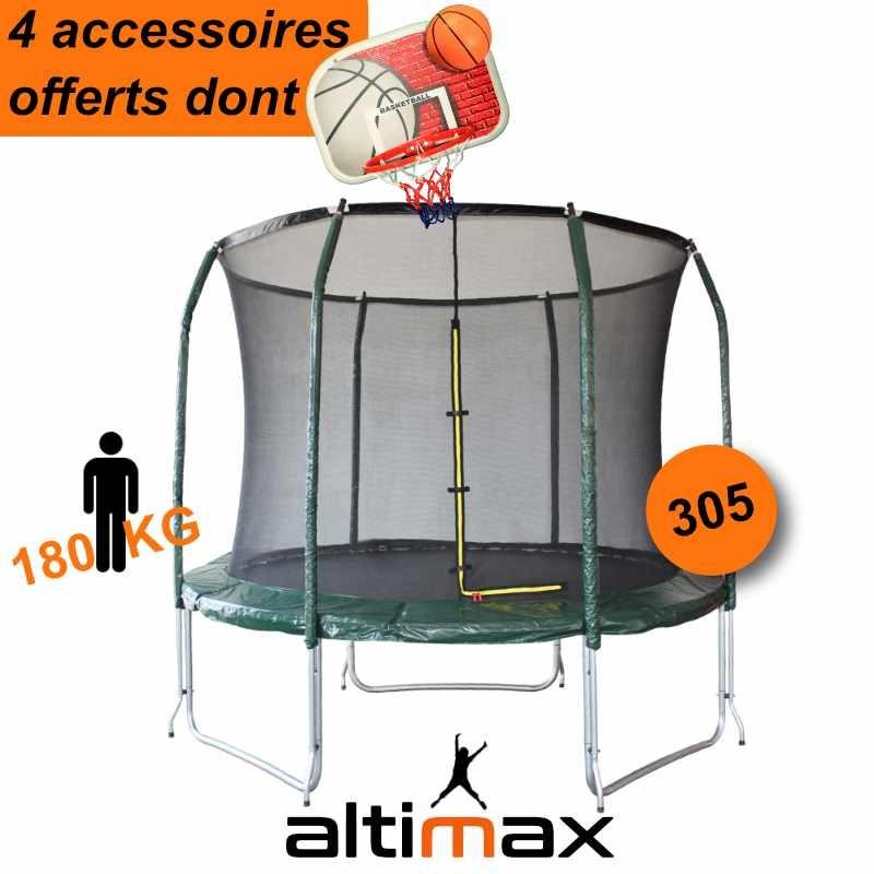 Trampoline Altimax 305 + accessoires (altimax-trampoline.fr)