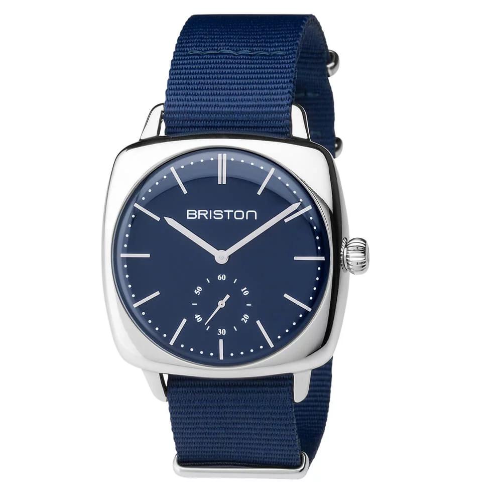 Montres Briston ClubMaster Vintage - Acier (briston-watches.com)