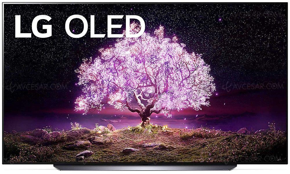"TV OLED 65"" LG OLED65C15LA - 4K UHD, 100 Hz, HDR10, Dolby Vision IQ & Atmos, Smart TV"