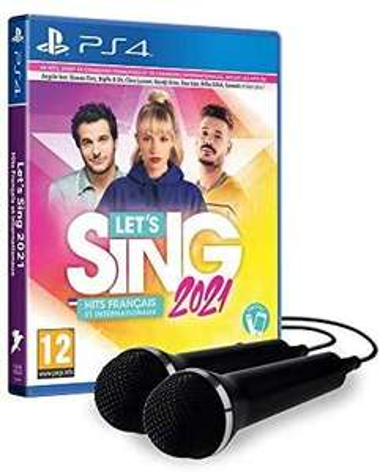 Let's Sing 2021 sur PS4 + 2 micros