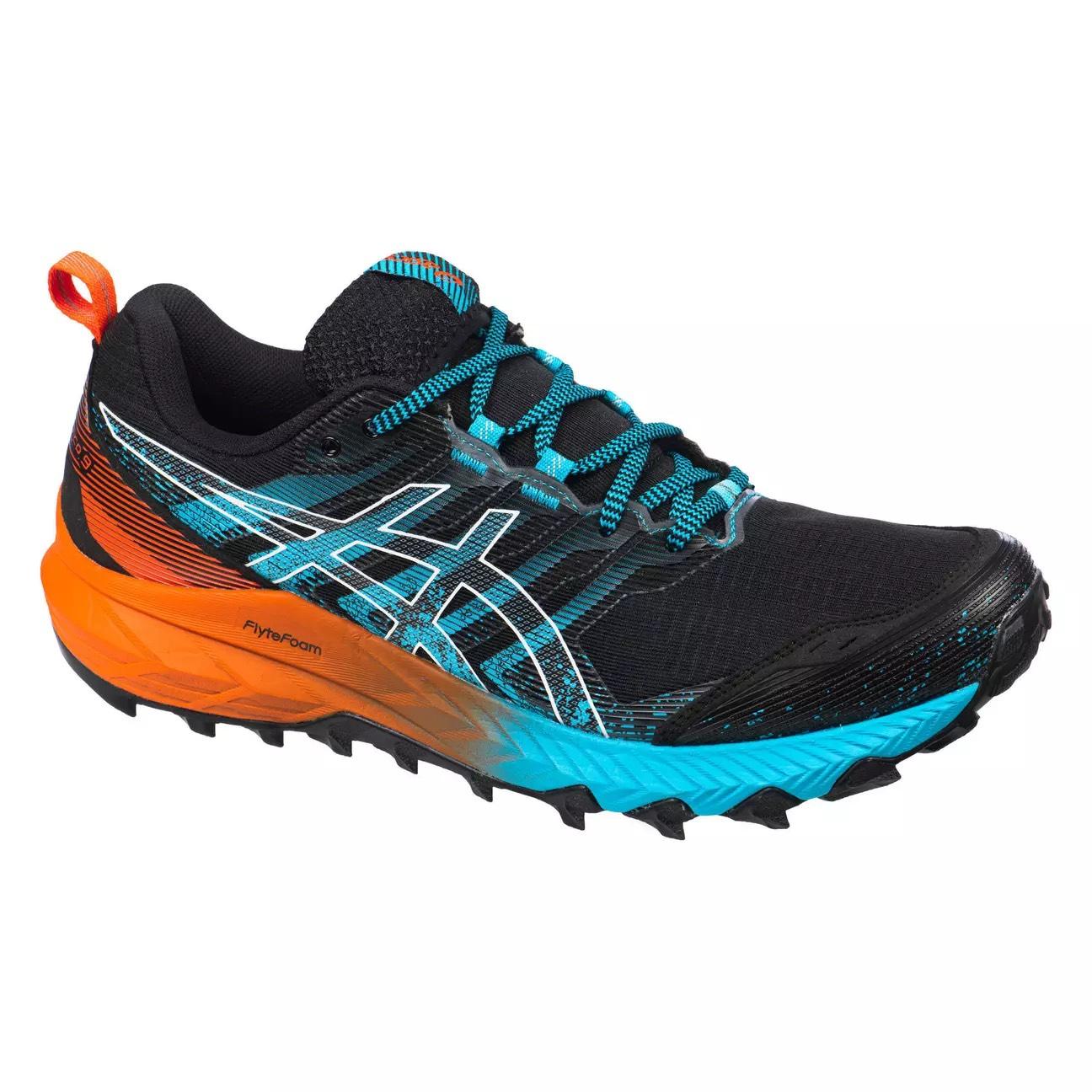 Chaussures de trail Asics Gel-Fujitrabuco 9 - Noir, Tailles 41.5 à 47