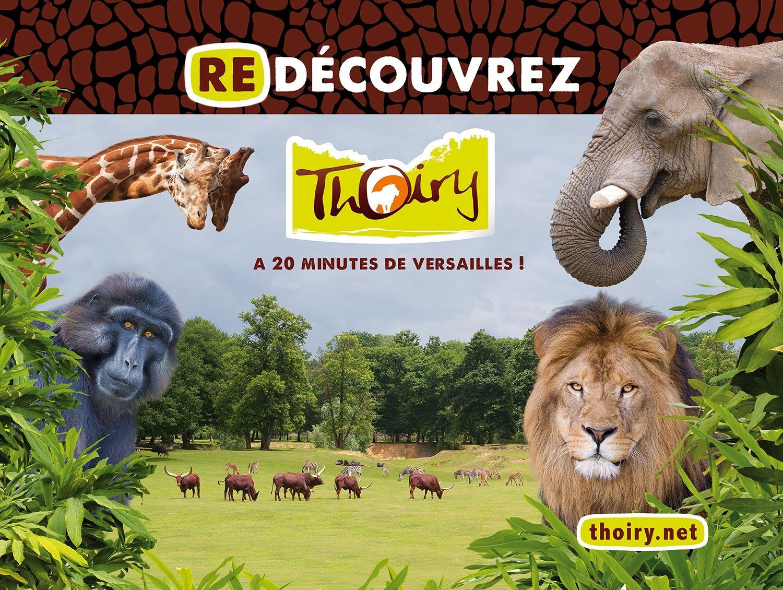 1 billet adulte ou enfant Zoo de Thoiry (Zoo + Safari) - Thoiry (78)