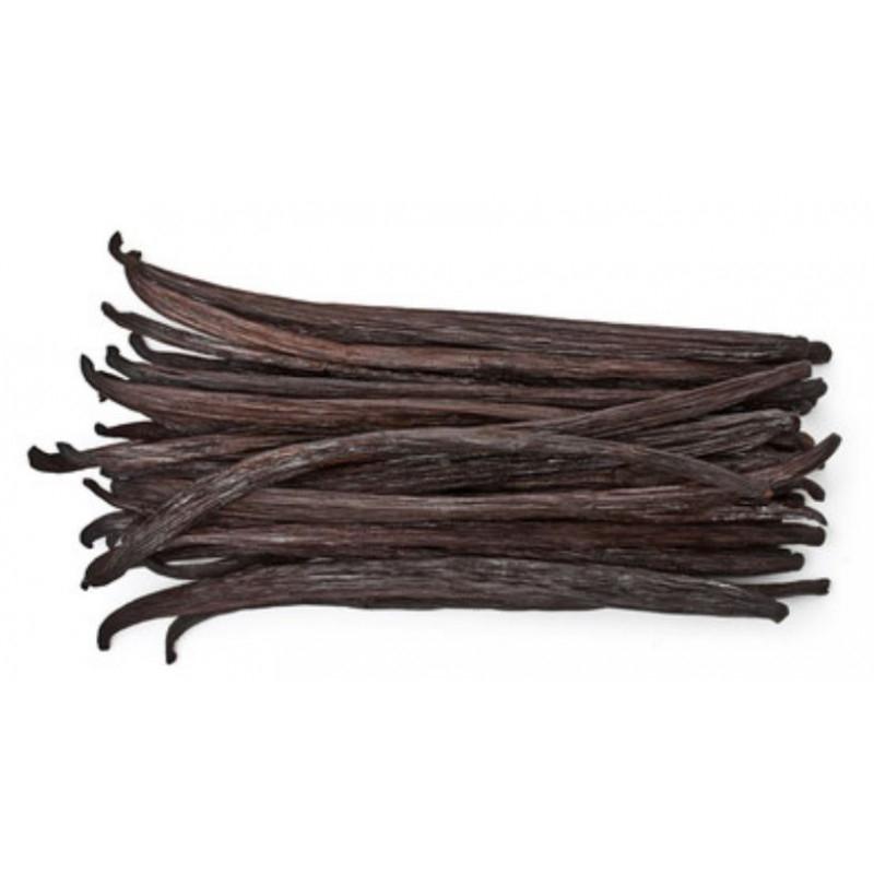 Lot de 5 gousses de vanille Papouasie Nouvelle Guinée - 16 cm (sambavanilla.com)