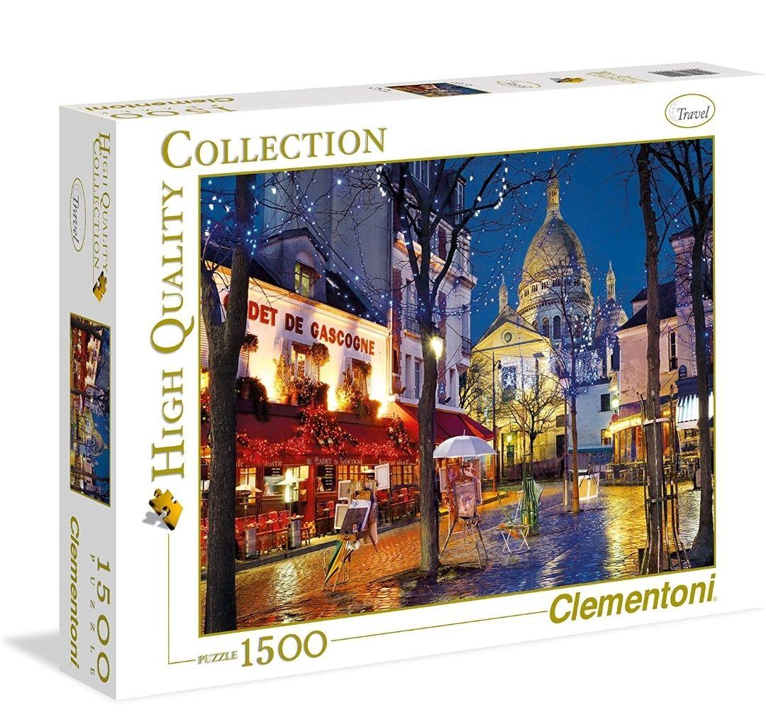 Puzzle Clementoni Paris Montmartre (31999) - 1500 pièces (vendeur tiers)