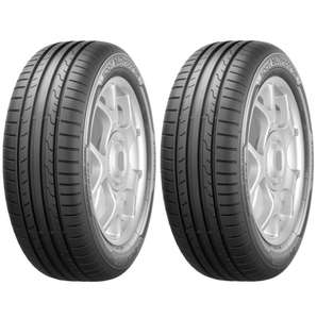 Jusqu'à 80€ en ticket E.Leclerc sur les pneus Dunlop - Ex : Lot de 2 Pneus été Sport BluResponse - 205/55 R16 91H (Via 20€ sur la carte)