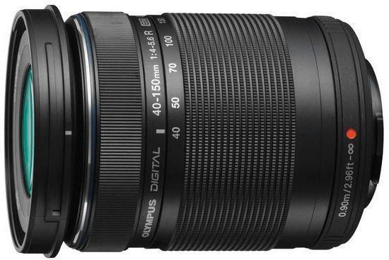 Objectif photo Olympus M.Zuiko Digital ED 40-150mm f4.0-5.6 R - monture micro 4/3