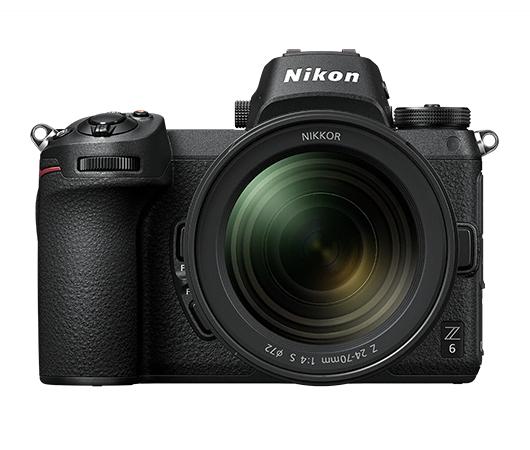 Kit appareil photo Hybride Nikon Z6 + Bague FTZ + carte mémoire XQD 64Go