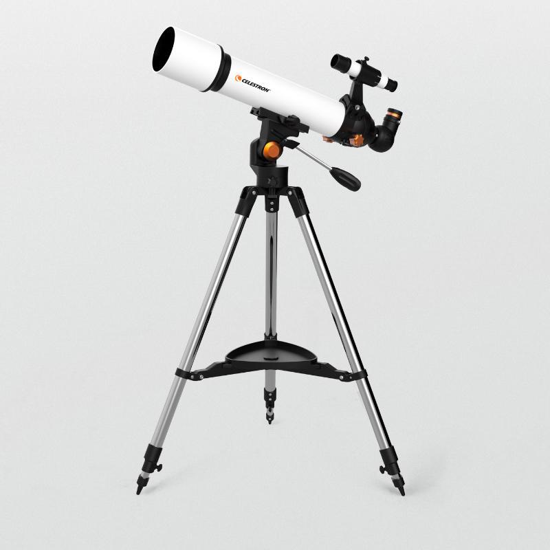 Lunette astronomique Celestron SCTW-70 - Grossissement max : 250X, Support enregistrement sur Smartphone (Entrepôt République Tchèque)