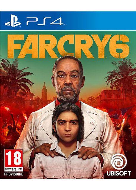 [Précommande] Jeu Far cry 6 sur PS4 (Boite IT)