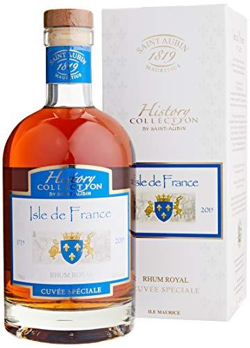 Bouteille de Rhum Royal Saint Aubin Isle de France Cuvée Speciale History Collection - 70 cl