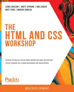 eBook : The HTML and CSS Workshop gratuit (Dématérialisé - Anglais)