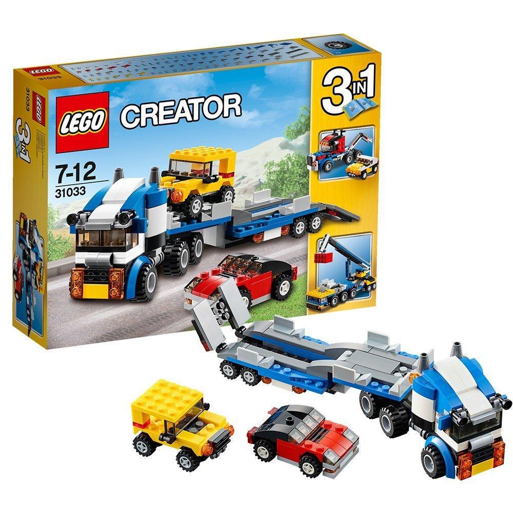 Jeu Lego Creator: Le transport de véhicules