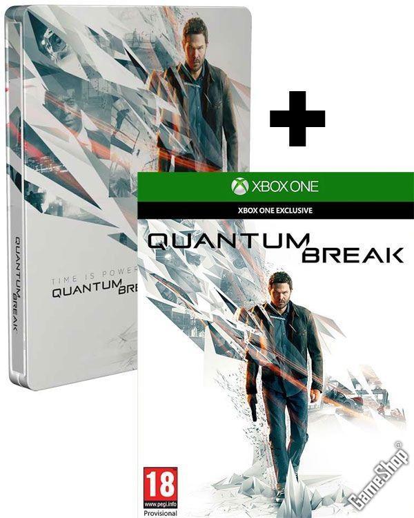Quantum Break + Steelbook sur Xbox One (+ téléchargement offert d'Alan Wake & DLC sur Xbox 360)