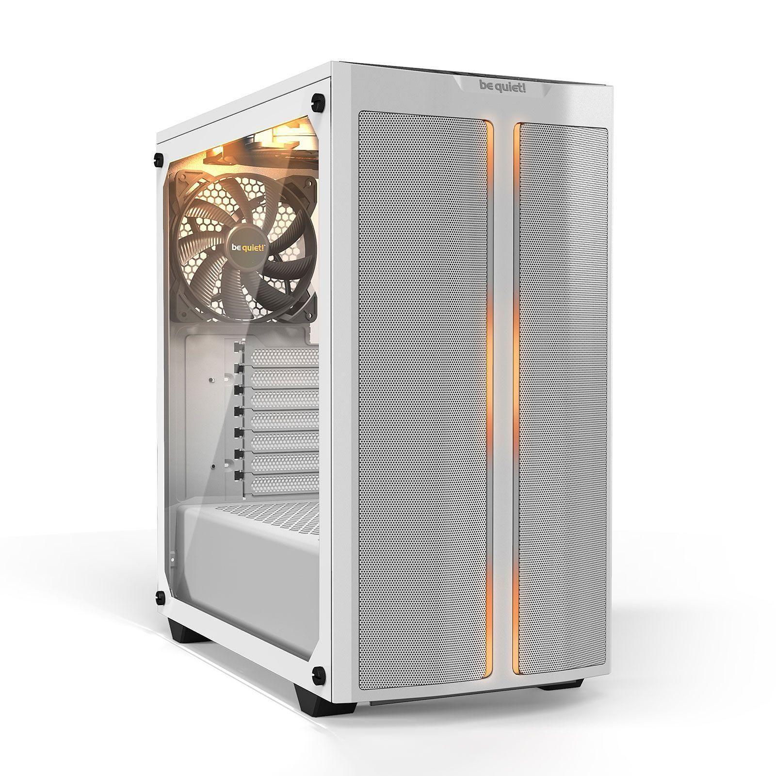 Boitier PC Be Quiet! Pure Base 500DX - ATX, Blanc