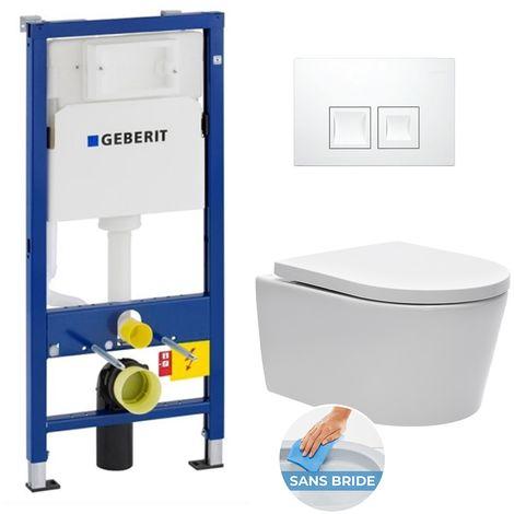 Pack WC suspendu Geberit UP100