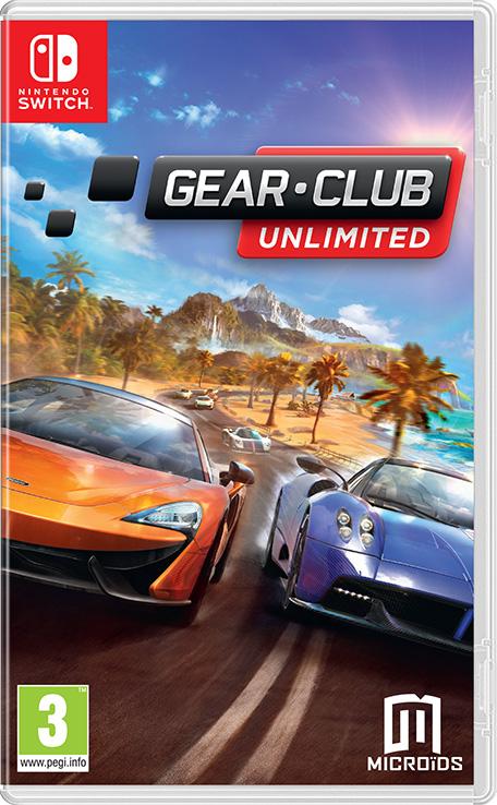 Gear Club Unlimited sur Nintendo Switch (Dématérialisé)