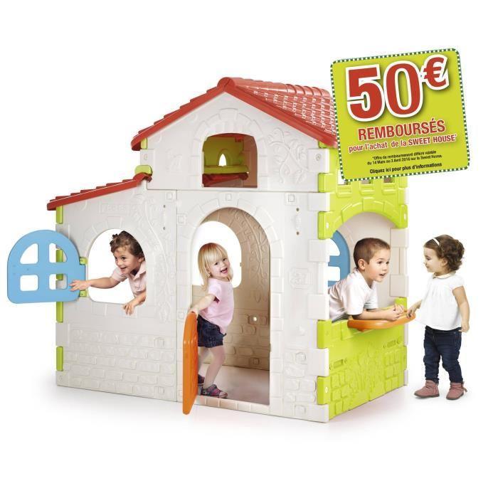 [Cdiscount à Volonté] Maison enfant Feber Sweet House (avec ODR 50€)